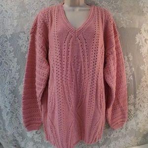 Vintage 90s Dana Scott Oversized Sweater
